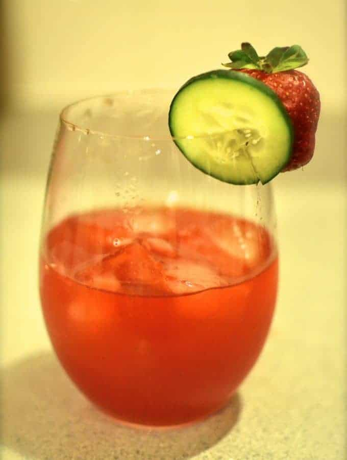 Strawberry Cucumber Margarita