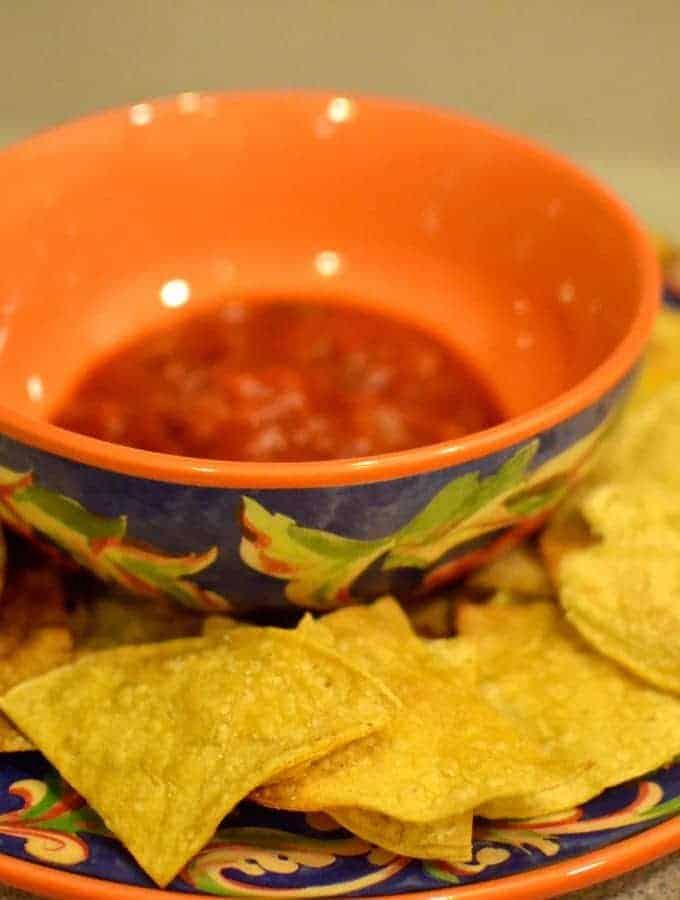 Less Guilty Tortilla Chips