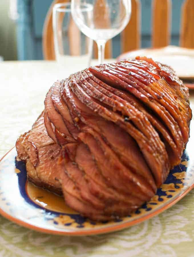 Bourbon-Brown Sugar Ham