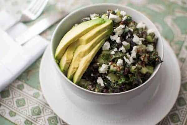 Cucumber Kale Salad