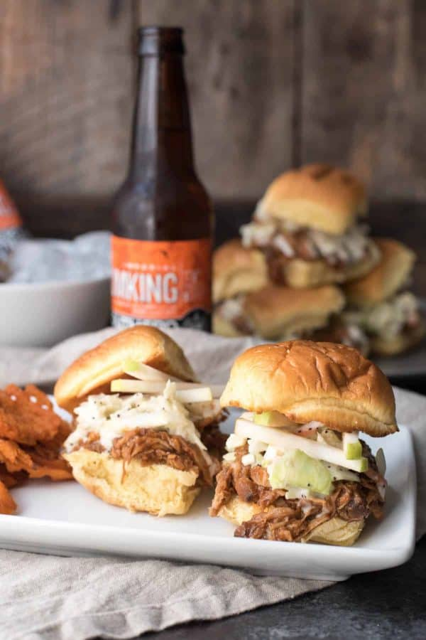 Crock Pot Pulled Pork Sliders