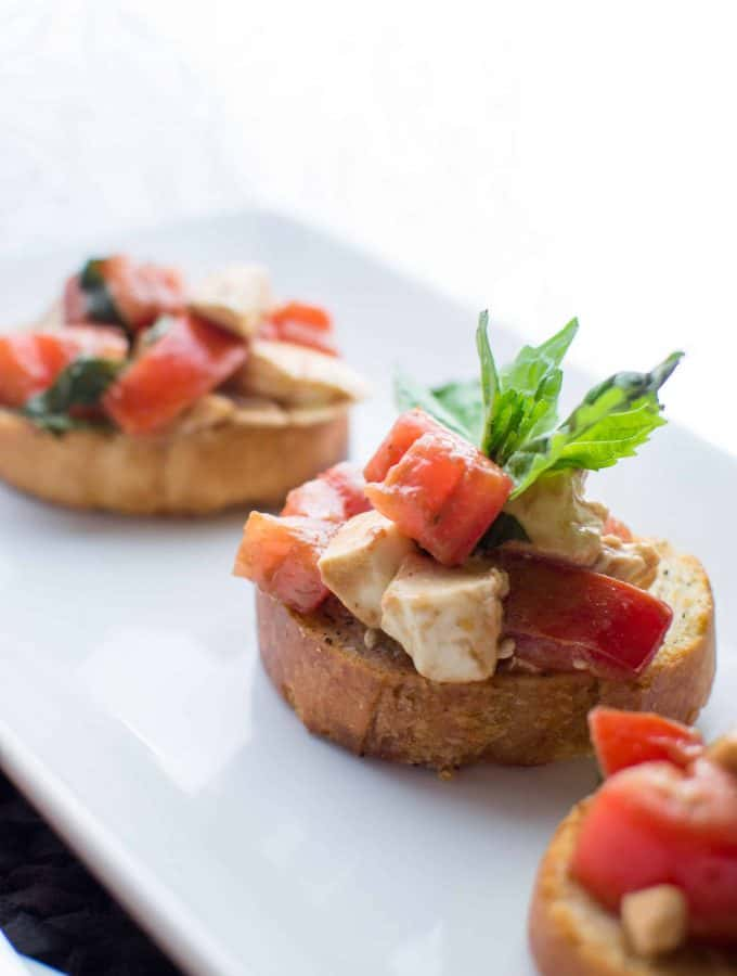 Homemade Balsamic Bruschetta