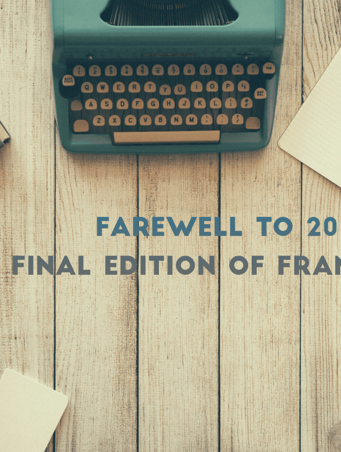 Farewell to 2016: the Final Edition of Frank