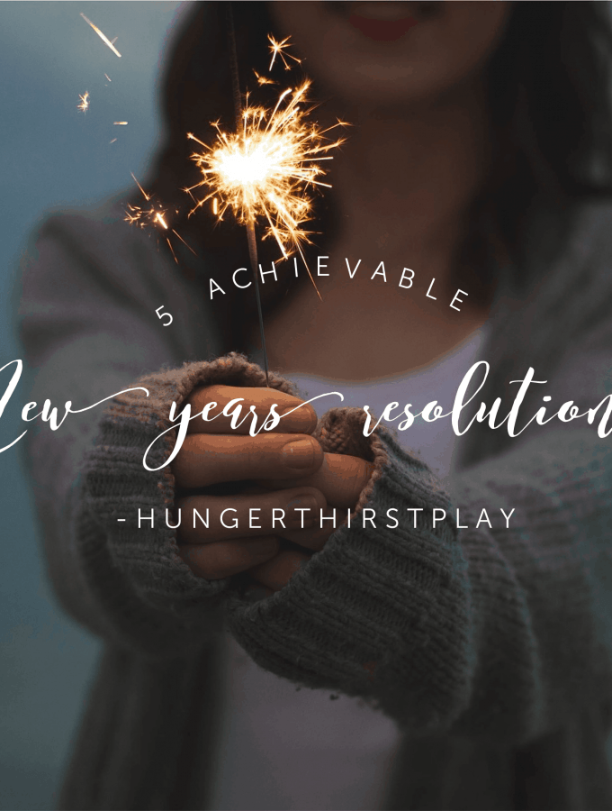 5 Achievable New Year's Resolutions