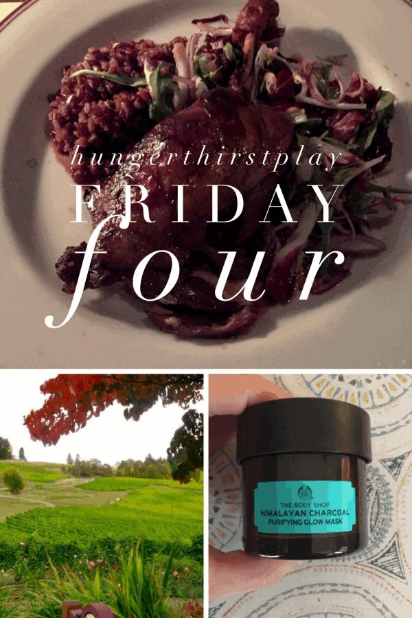 Friday Four: 1st Edition