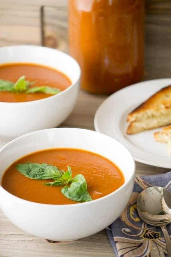 Veggie Packed Spicy Tomato Soup