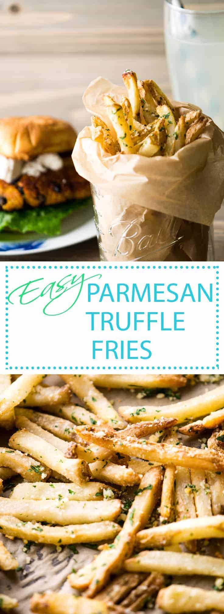 Parmesan Truffle Fries