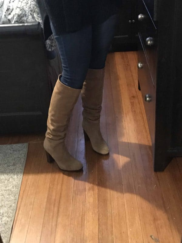 sam edelman boots with skinny jeans