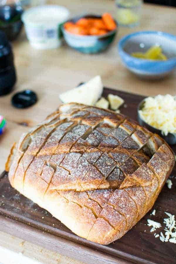 French Onion Soup Bread