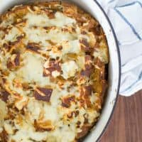 French Onion Soup Pull Apart Bread