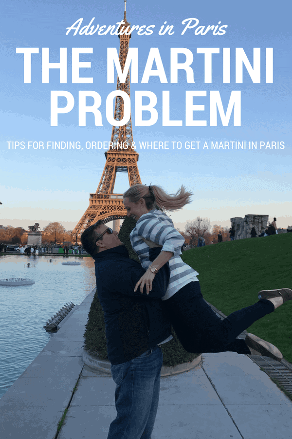 Adventures in Paris: The Martini Problem