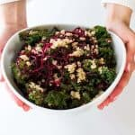 Beets & Blue Kale Crunch Salad