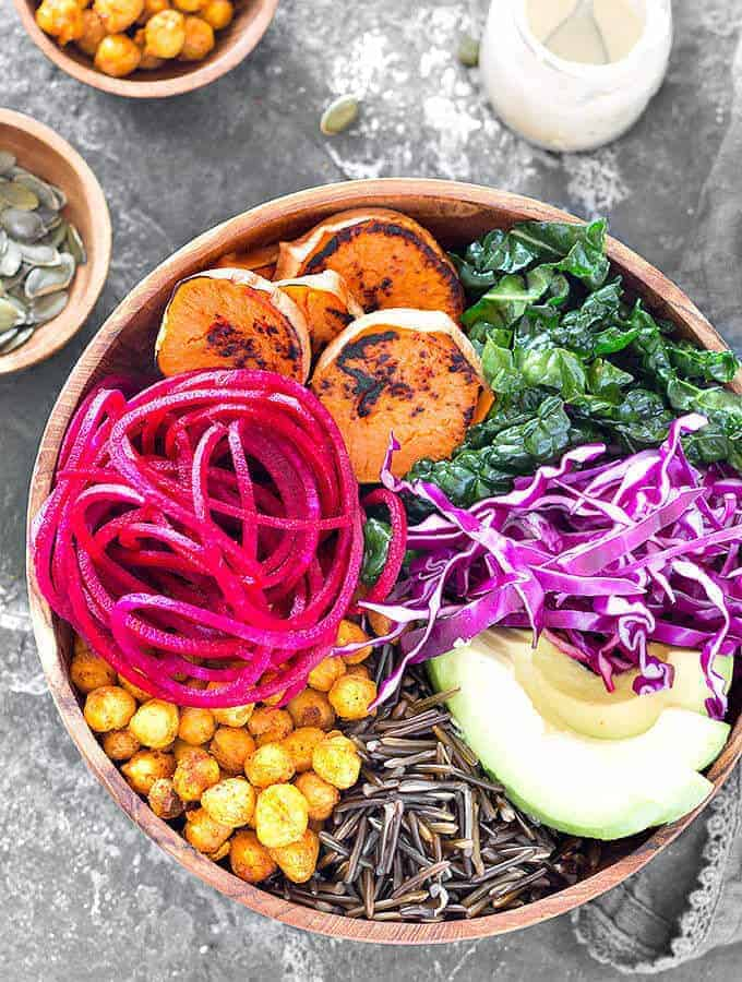 Nourishing Vegan Buddha Bowl