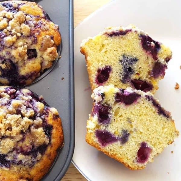 Blueberry Glaze Muffins