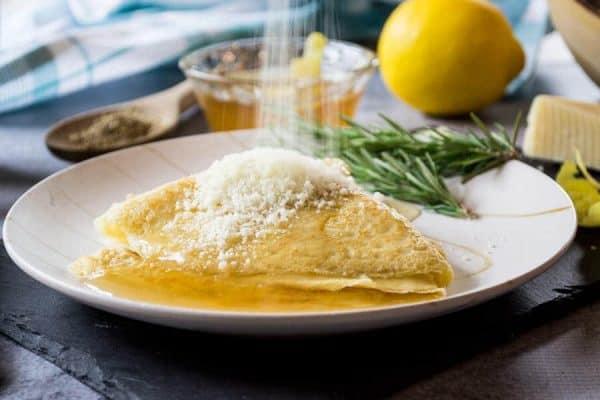 Ciaffagnoni with Chamomile Lemon Jelly