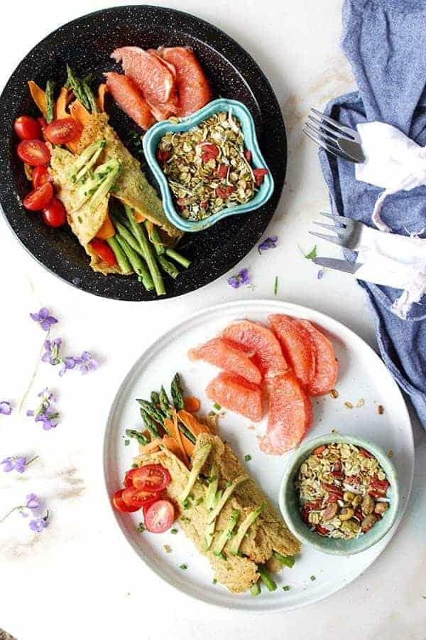 Easy Vegan Brunch For Two