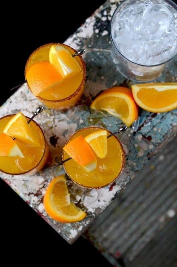 Orange Turmeric Margarita