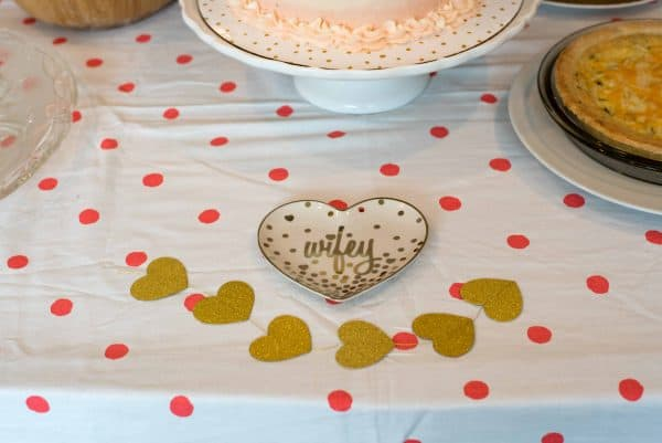Bridal Shower in Blush & Gold