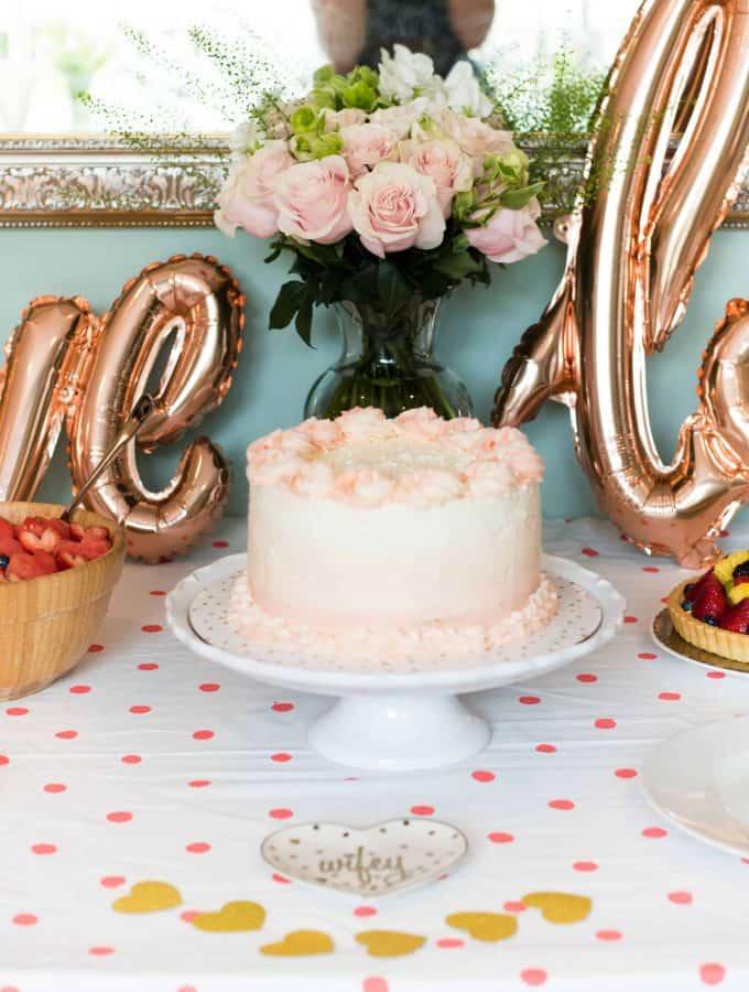 Bridal Shower in Blush & Gold