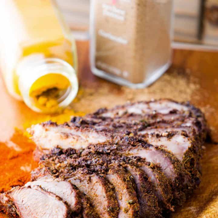 Easy Lamb Gyro with Traditional Spice Rub