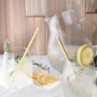 Lemon Thyme Gin Spritz