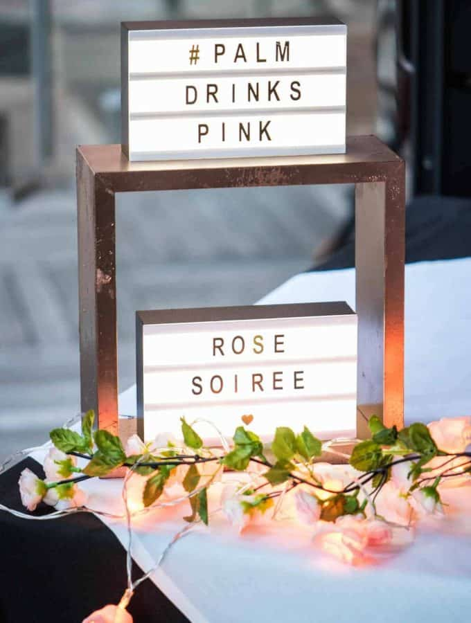 Rosé Soirée | A Night at the Palm & How to Plan Your Own