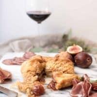 Brie En Croute with Fresh Fig Jam-12