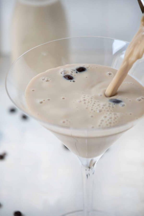 Coffee Milk Martini
