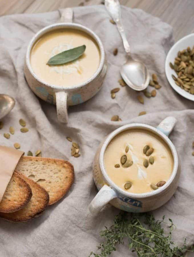 Creamy Vegan Butternut Squash Soup