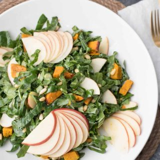 Honeycrisp Collard Green Salad