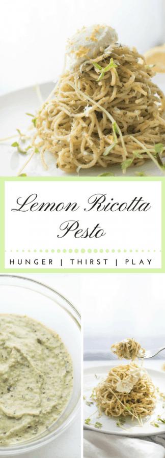 Lemon Ricotta Pesto