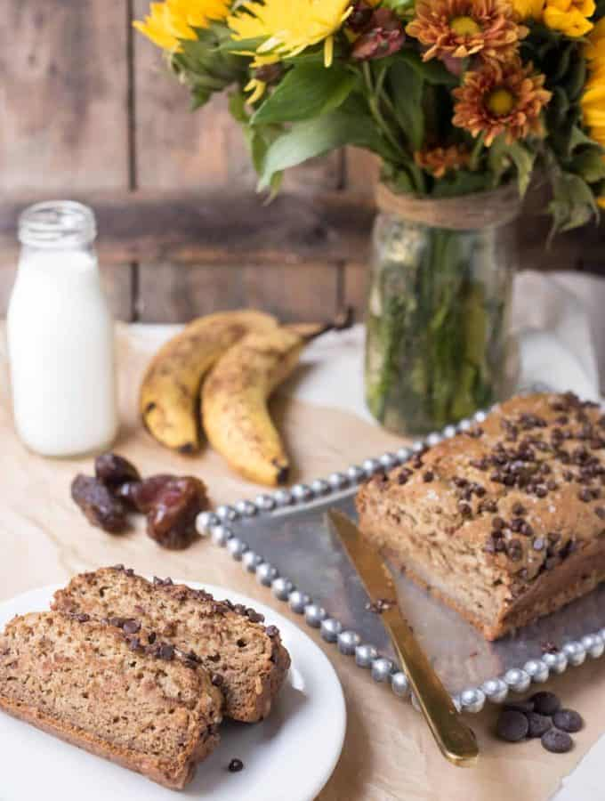 [No Refined Sugar] Vegan Banana Bread