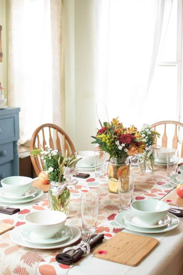 Fall Inspired Pot Luck with Autumn Glory Apples