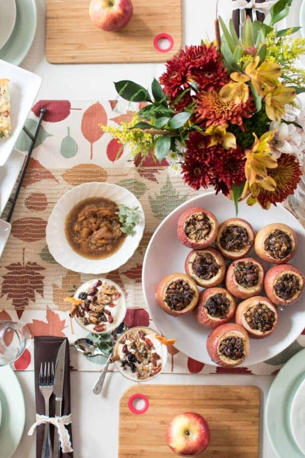 Fall Inspired Pot Luck featuring Autumn Glory Apples