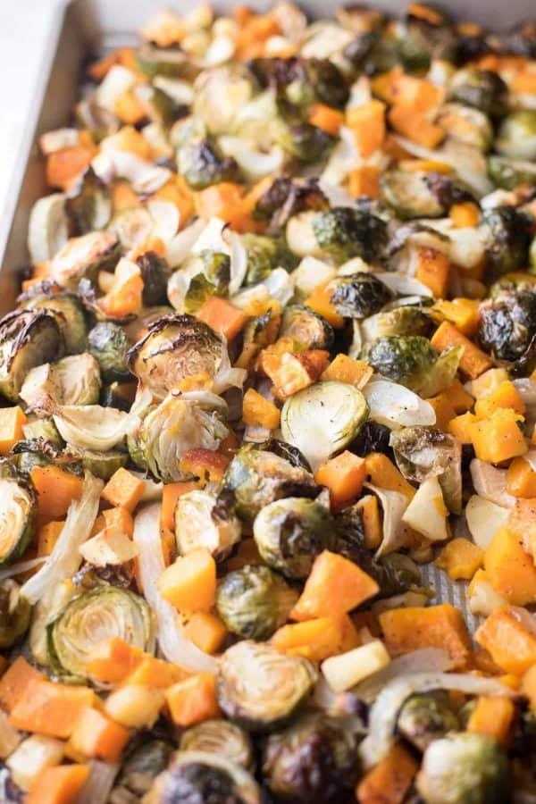 Sheet Pan Winter Veggies