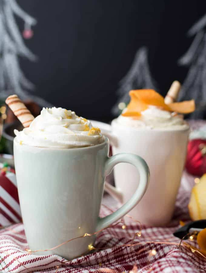 Boozy Orange Mocha | The Best Christmas Coffee