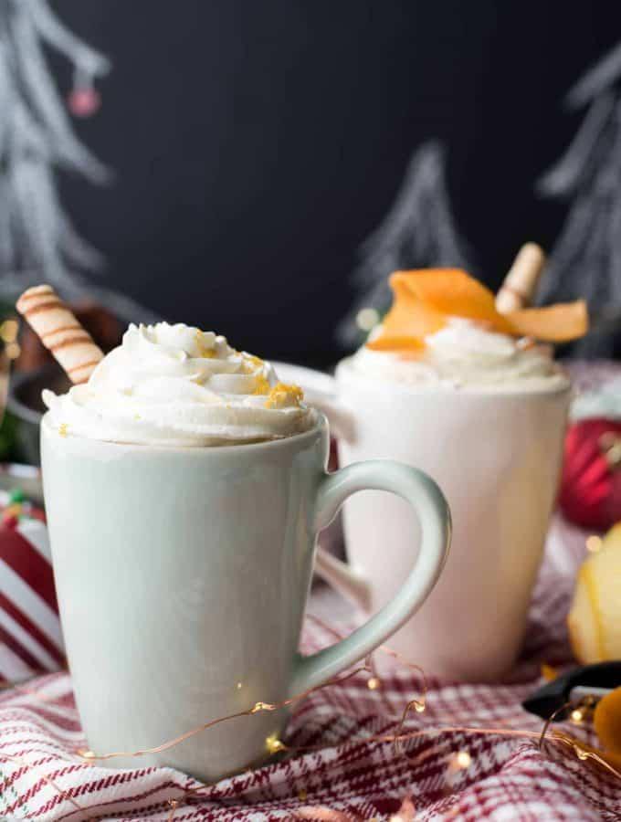 Boozy Orange Mocha | The Best Christmas Coffee