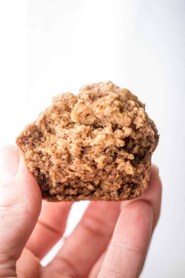 Gingerbread Banana Motivation Muffins