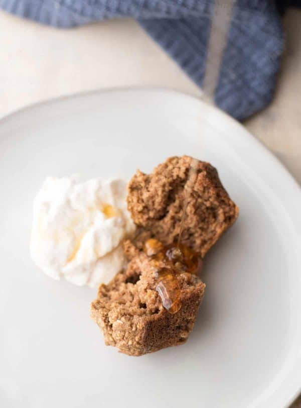 Gingerbread Banana Motivation Muffins