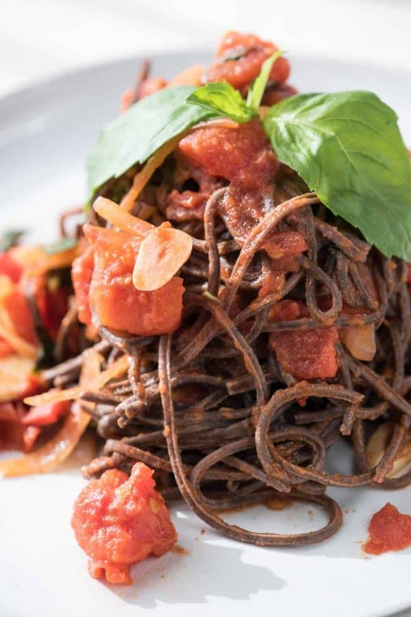 Garlicky Diced Tomato Sauce | Black Bean Sauce