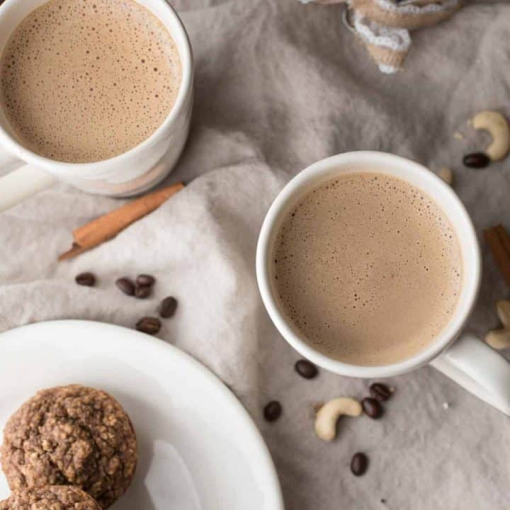 Creamy Gingerbread Cashew Coffee