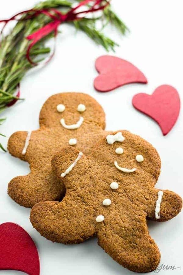 Sugar Free Gingerbread Cookies