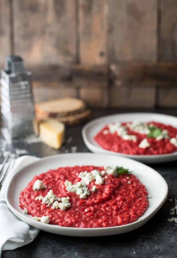 Creamy Beet Risotto