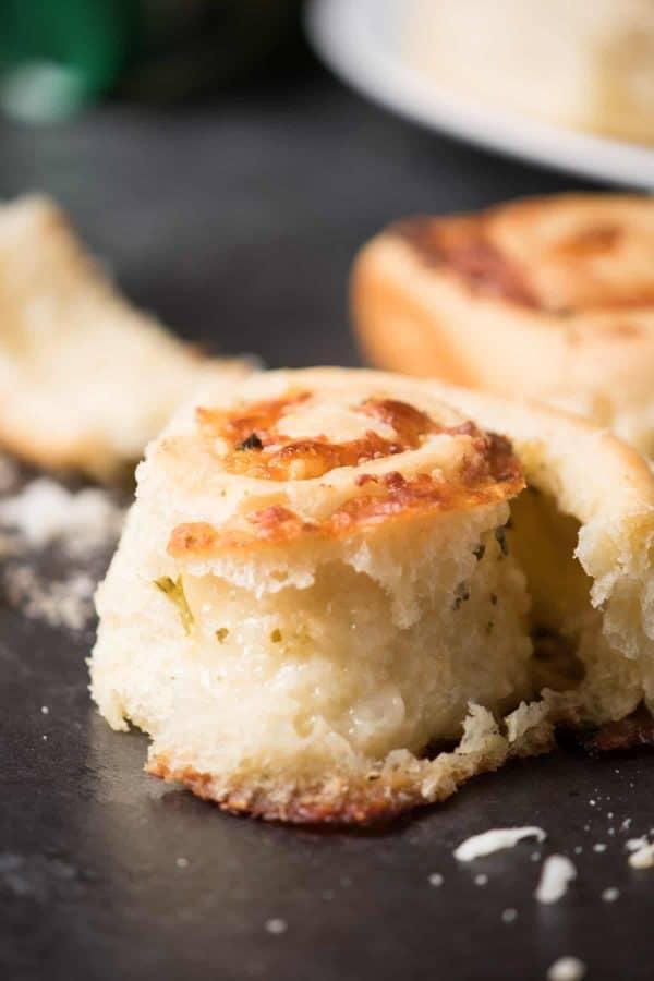 Savory Mozzarella Garlic Rolls