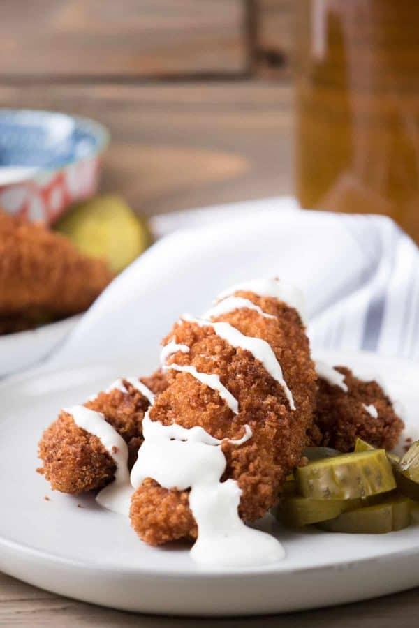 Pickle Marinated Chicken Tender