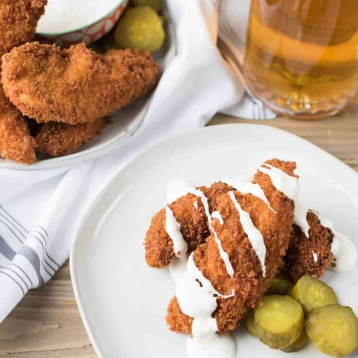 Pickle Marinated Chicken Tenders