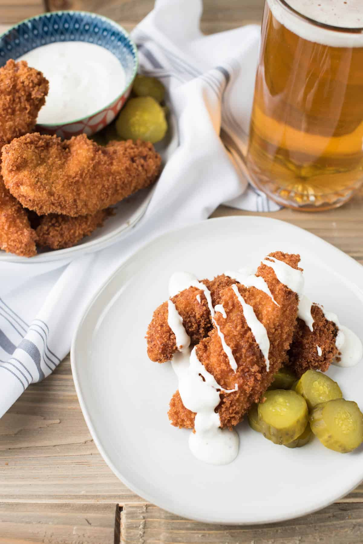 Pickle Marinated Chicken Tenders | Hunger|Thirst|Play