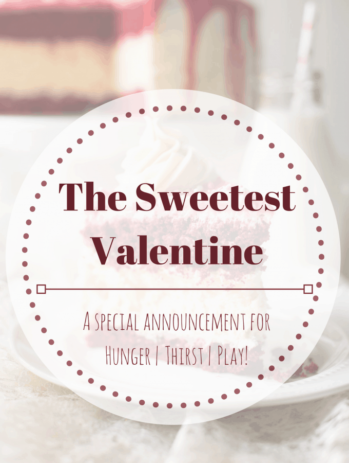 The Sweetest Valentine: A Special Announcement!