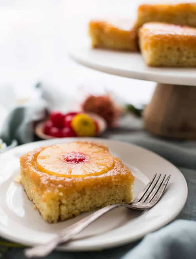 Pineapple Upside Down Cake for a Crowd