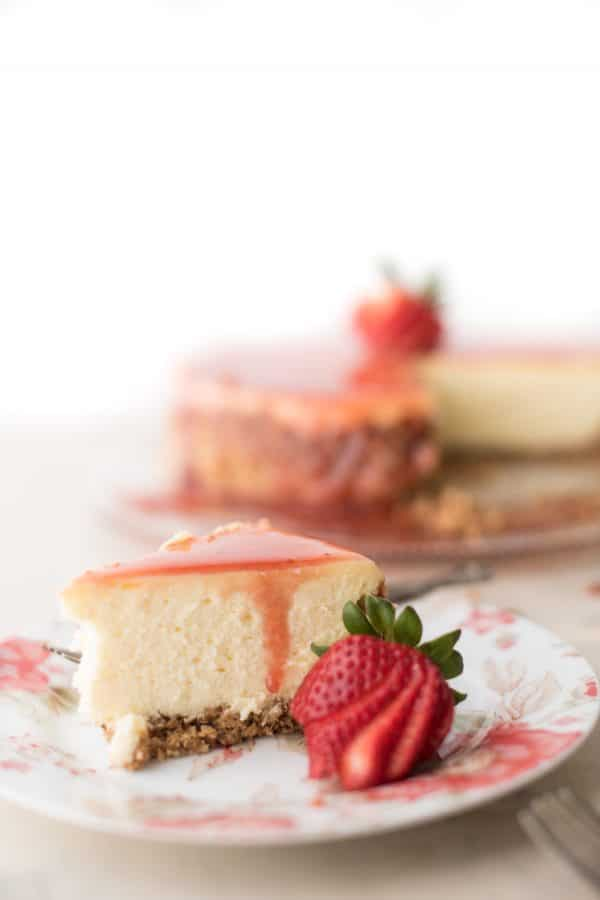 Gluten Free New York Cheesecake